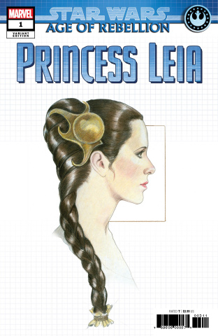 Star Wars: Age of Rebellion - Princess Leia #1 (Concept Cover)