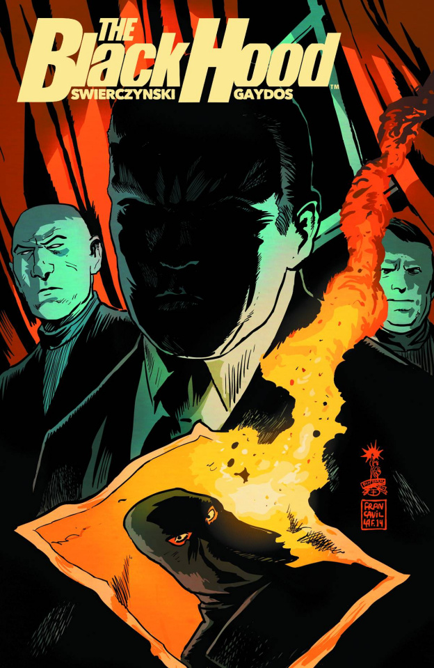 The Black Hood #3 (Francavilla Cover)