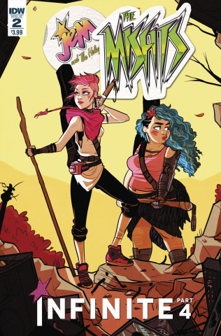Jem and The Holograms: Misfits Infinite #2 (St. Onge Cover)