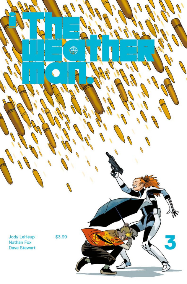 The Weatherman #3 (Martin Cover)