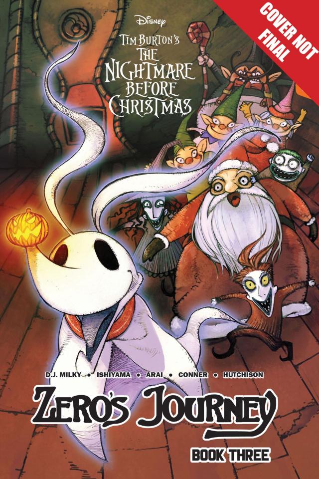 The Nightmare Before Christmas: Zero's Journey Vol. 3