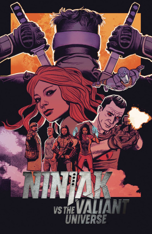 Ninjak vs. The Valiant Universe #3 (Smallwood Cover)