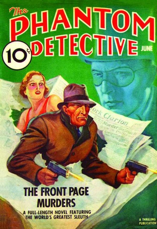 The Phantom Detective June 1938 Replica Edition