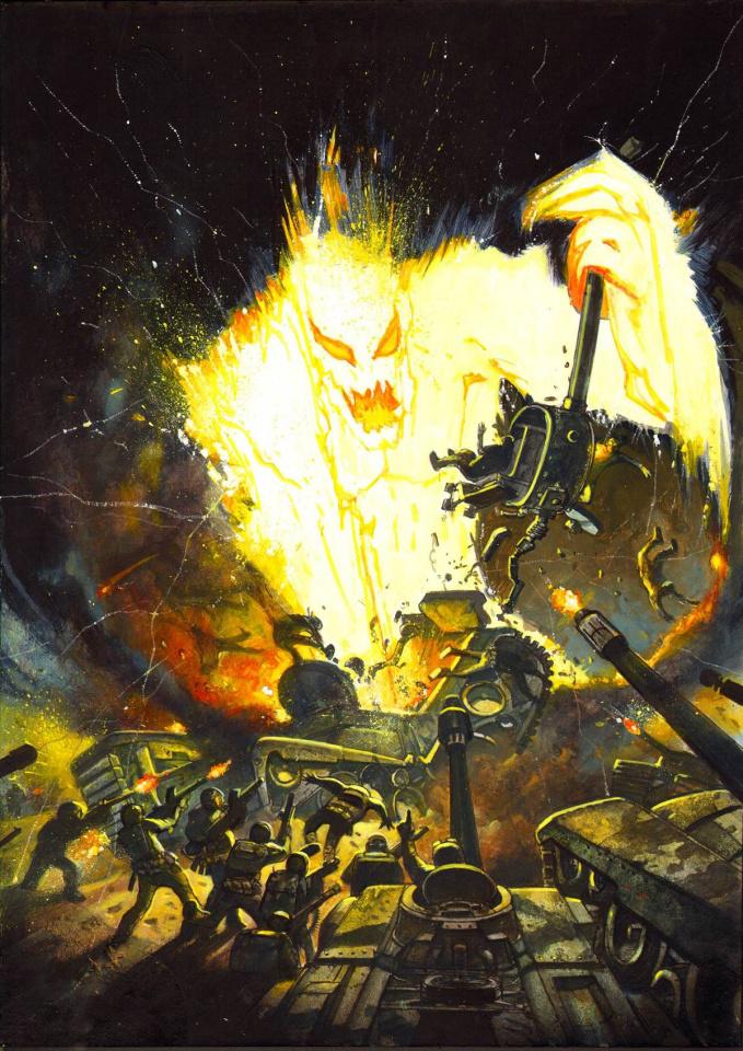 New Avengers #2 (Bisley Kirby Monster Cover)