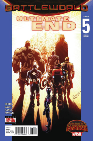 Ultimate End #5 (Bagley 2nd Printing)