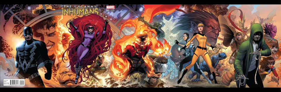 The Uncanny Inhumans #1 (Cheung Gatefold Cover)