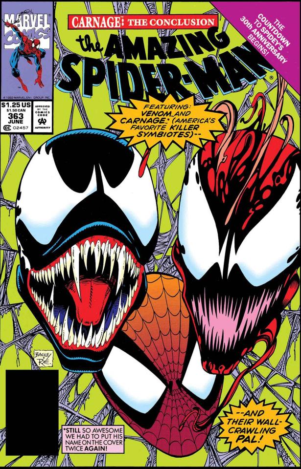 Venom: Carnage #1 (True Believers)