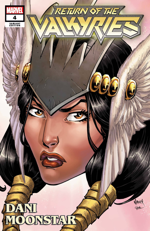 King in Black: Return of the Valkyries #4 (Nauck Headshot Cover)