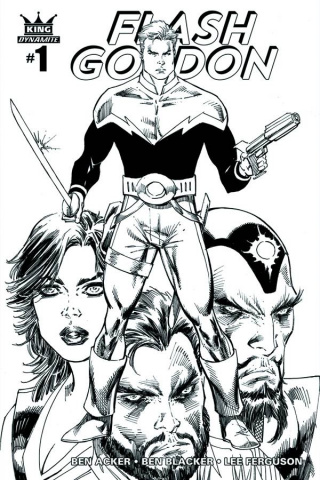 Flash Gordon #1 (35 Copy Liefeld B&W Cover)