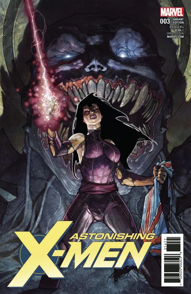 Astonishing X-Men #3 (Bianchi Cover)