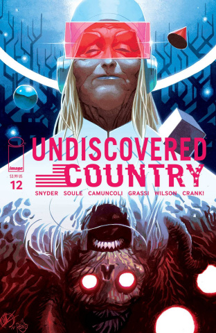 Undiscovered Country #12 (Scalera Cover)