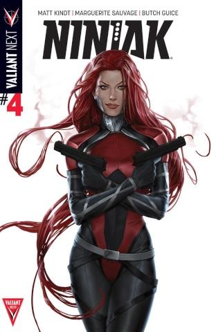 Ninjak #4 (Kevic-Djurdjevic Cover)