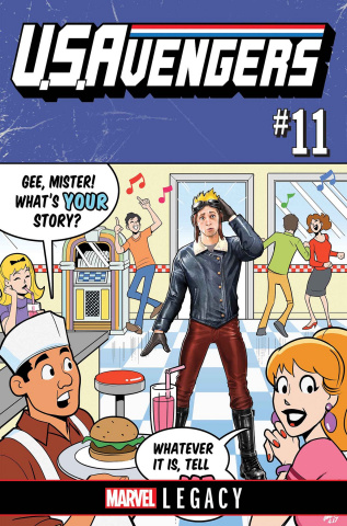 U.S.Avengers #11: Legacy
