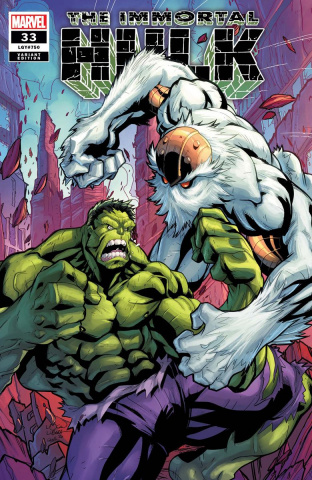 The Immortal Hulk #33 (Lubera Cover)