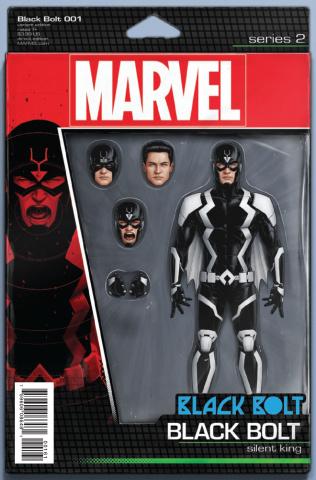 Black Bolt #1 (Christopher Action Figure Cover)