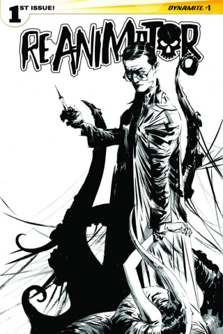 Reanimator #1 (25 Copy Lee B&W Cover)