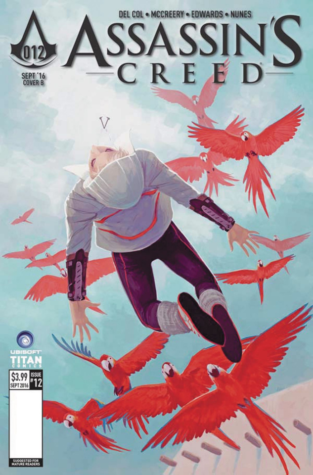 Assassin's Creed #12 (Sanapo Cover)