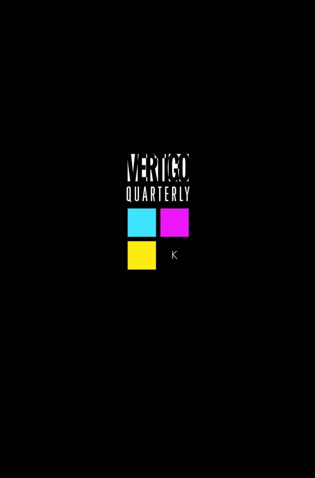 Vertigo Quarterly #1 Black