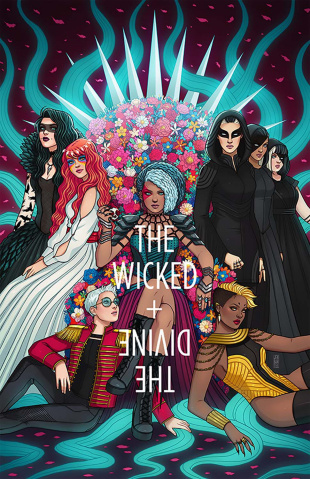 The Wicked + The Divine #24 (Bartel Cover)
