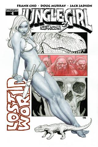 Jungle Girl, Season 3 #4 (10 Copy B&W Cover)