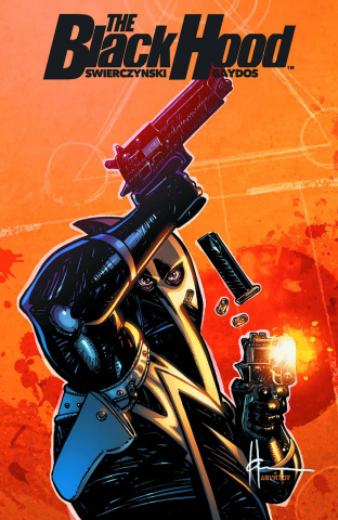 The Black Hood #4 (Chaykin Cover)