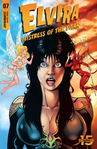 Elvira: Mistress of the Dark #7 (5 Copy Castro Cover)
