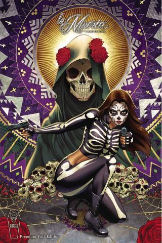 La Muerta: Retribution #1 (Premium Foil Cover)