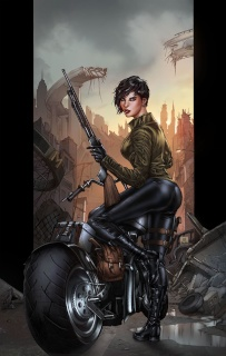 The Courier #2 (Krome Cover)
