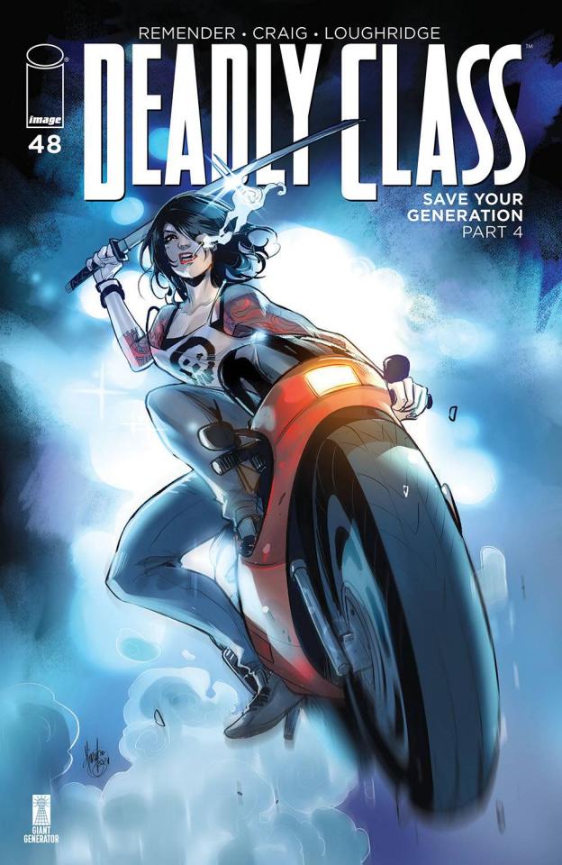 Deadly Class #48 (Andolfo Cover)