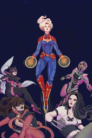 Captain Marvel #1 (Tsai Cover)