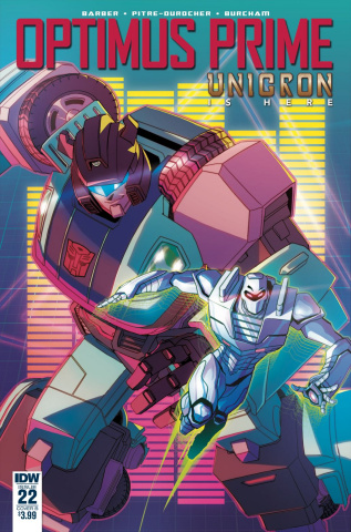 Optimus Prime #22 (Pitre Durocher Cover)