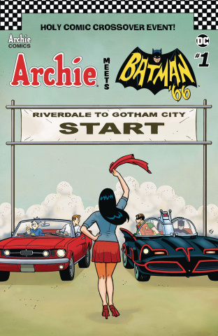 Archie Meets Batman '66 #1 (Templeton Cover)