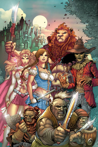 Grimm Fairy Tales: The Warlord of Oz #1 (Ortiz Cover)