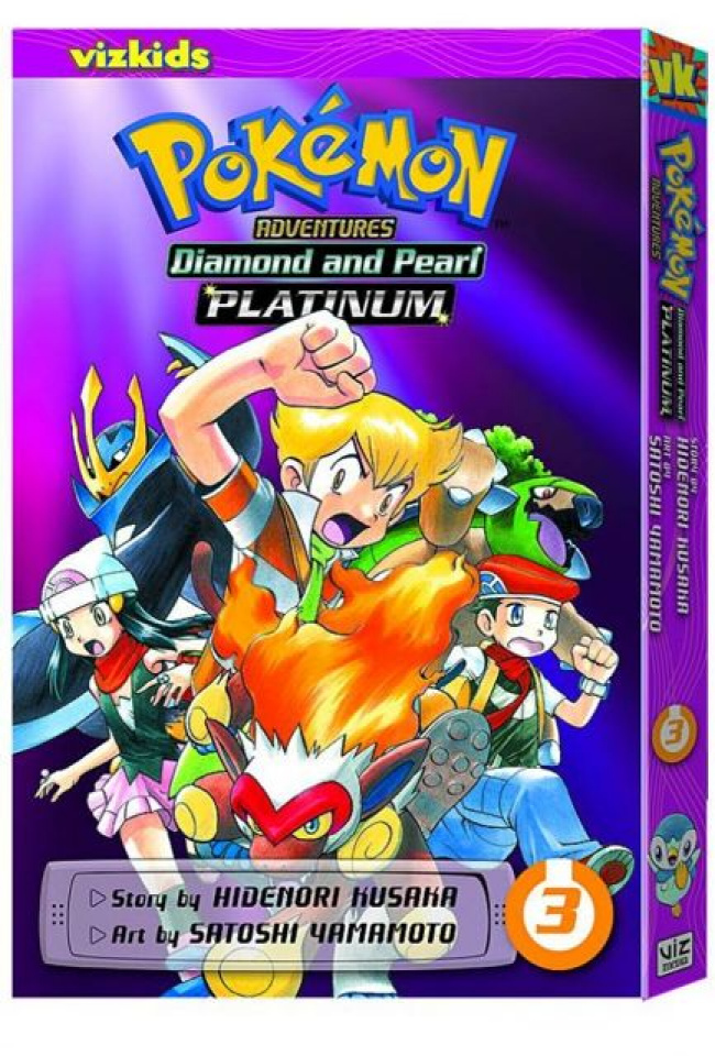 Pokemon Adventures: Platinum Vol. 3