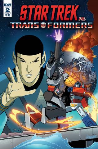 Star Trek vs. The Transformers #2 (Murphy Cover)
