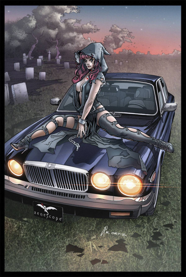 Grimm Fairy Tales: Grimm Tales of Terror #8 (Ortiz Cover)