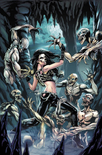 Grimm Fairy Tales: Day of the Dead #5 (Otero Cover)