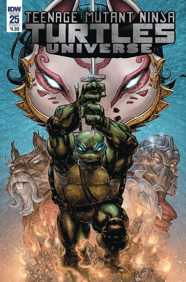 Teenage Mutant Ninja Turtles Universe #25 (Williams Cover)