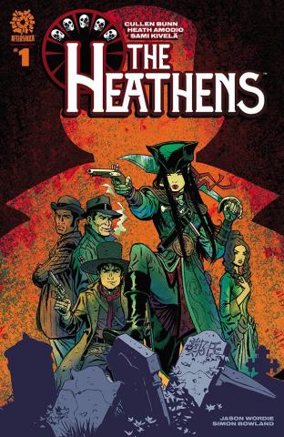 Heathens #1 (Kivela With Wordie Cover)
