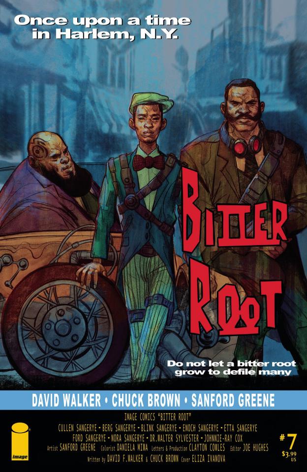Bitter Root #7 (10 Copy Ivanova Cover)