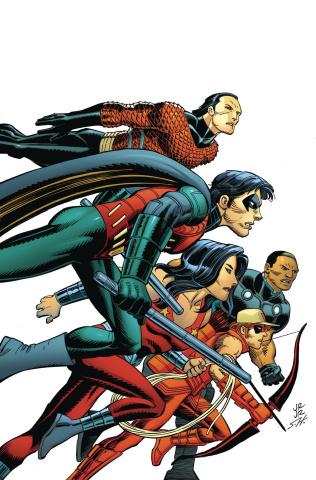 Titans Hunt #7 (Romita Cover)