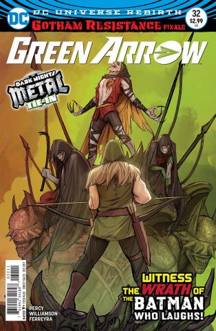 Green Arrow #32 (Metal)