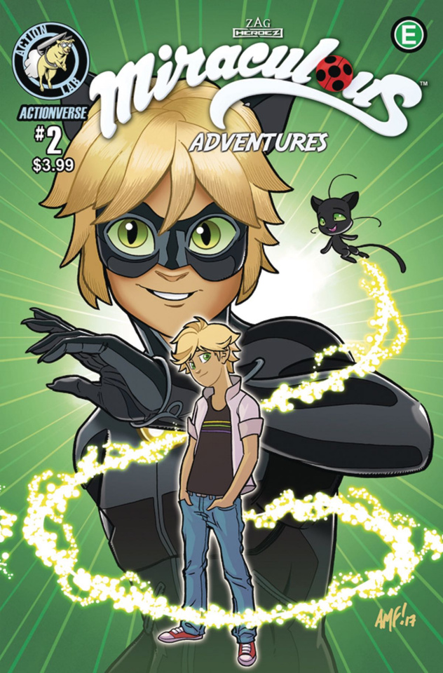 Miraculous: The Adventures of Ladybug & Cat Noir #2 (Cover B)