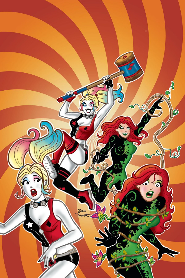 Harley and Ivy Meet Betty and Veronica #2 (Variant Cover)