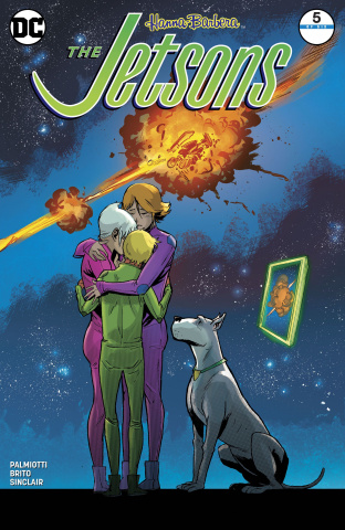 The Jetsons #5 (Variant Cover)