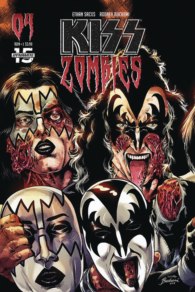 KISS: Zombies #4 (Buchemi Cover)