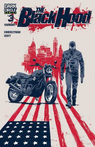 The Black Hood, Season 2 #3 (Michael Walsh Cover)