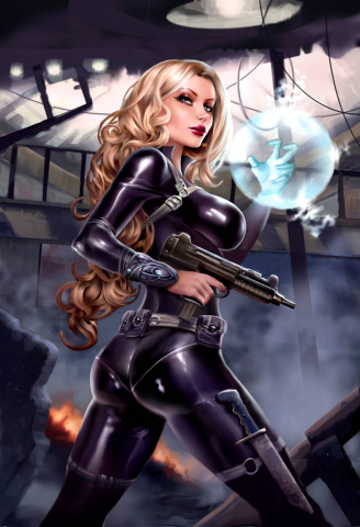 Grimm Fairy Tales: Red Agent #5 (Black Cover)