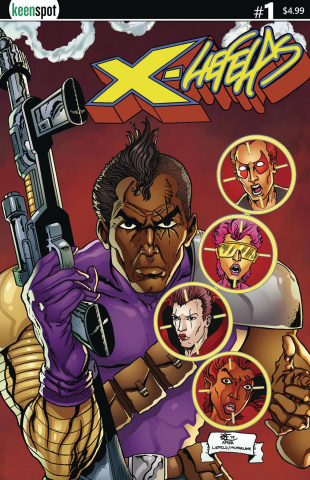 X-Liefelds #1 (Kent Cover)