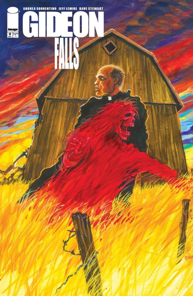 Gideon Falls #9 (O'Barr Cover)